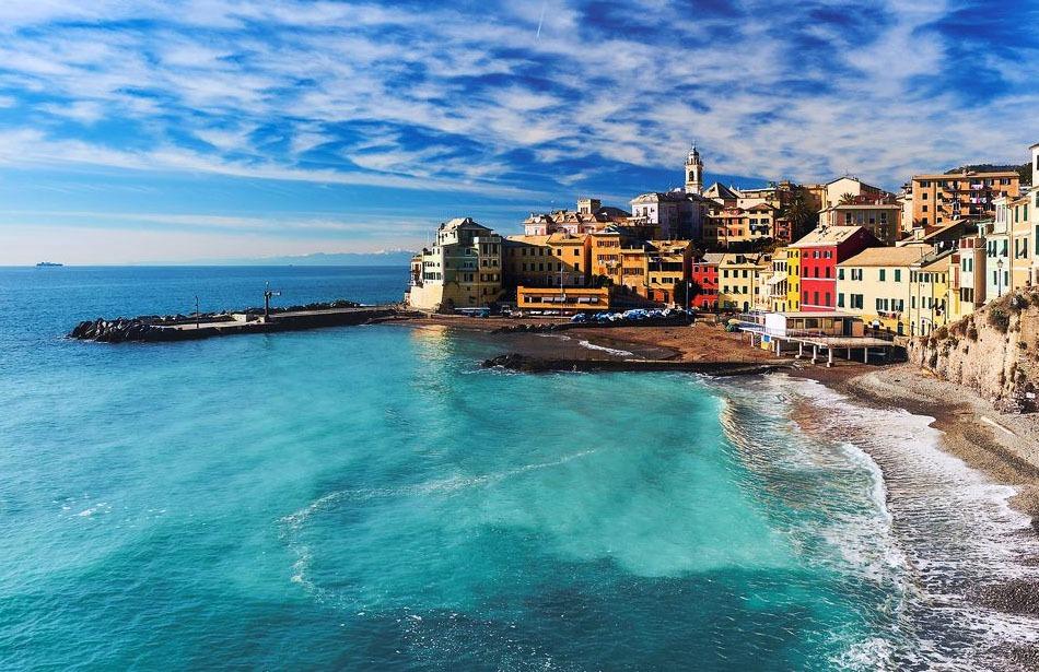 A vela in Liguria